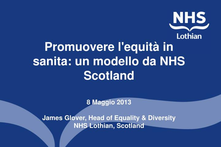 equality and diversity case studies nhs