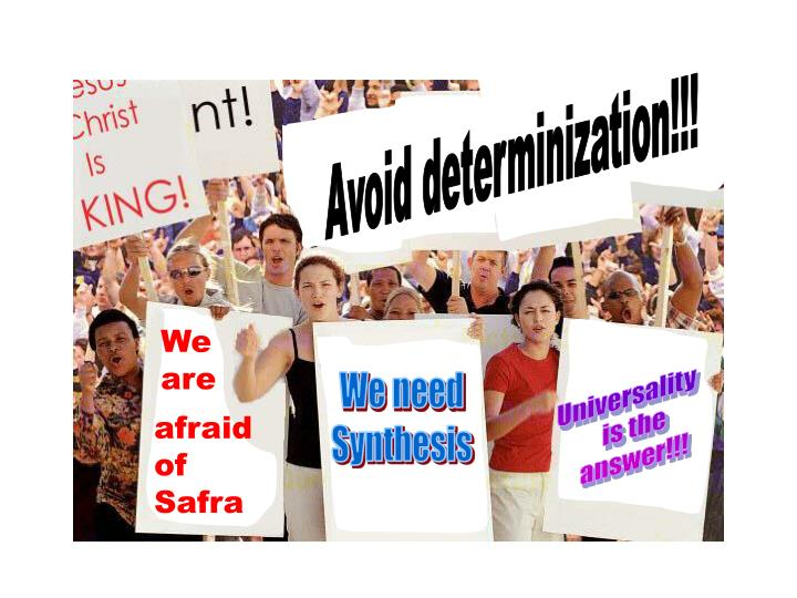 Avoid determinization!!!