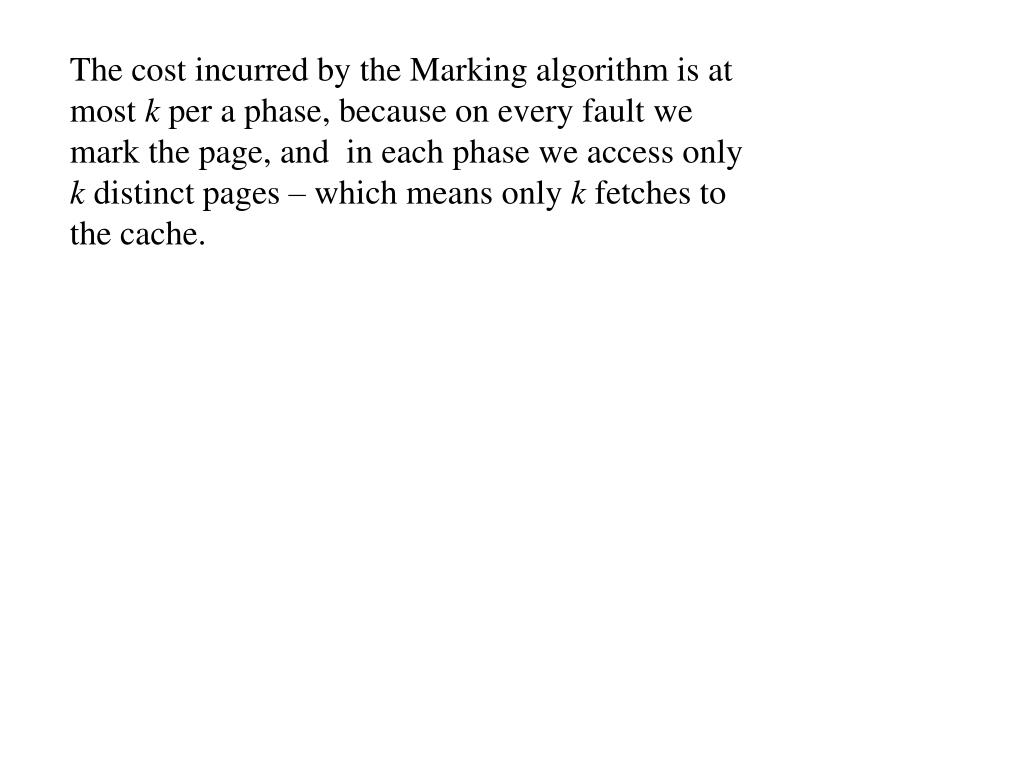 PPT - Online Algorithms Lecture notes for lectures given by