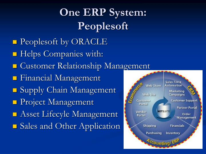 One ERP System: