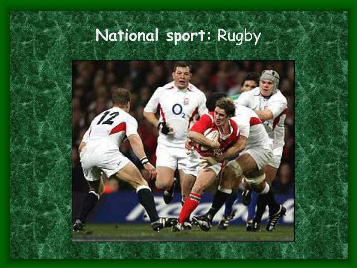 National sport: