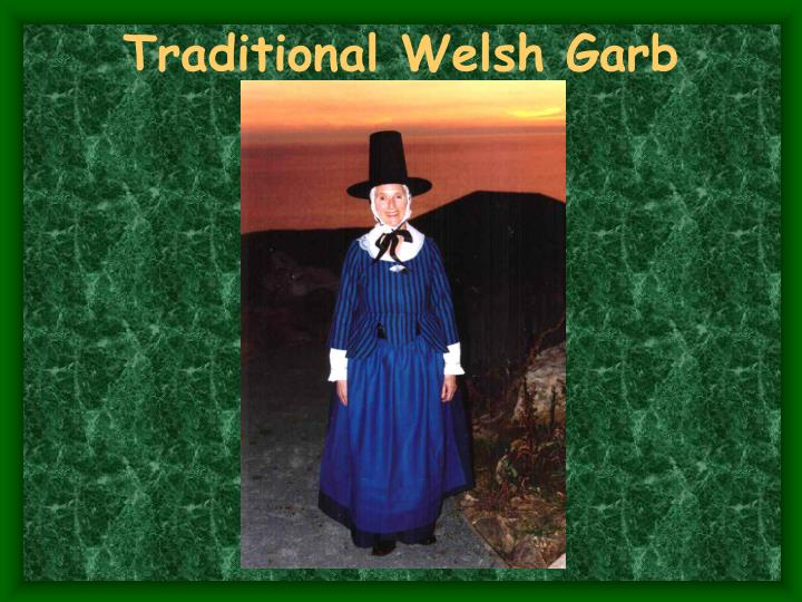 Traditional Welsh Garb