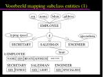 voorbeeld mapping subclass entities 1