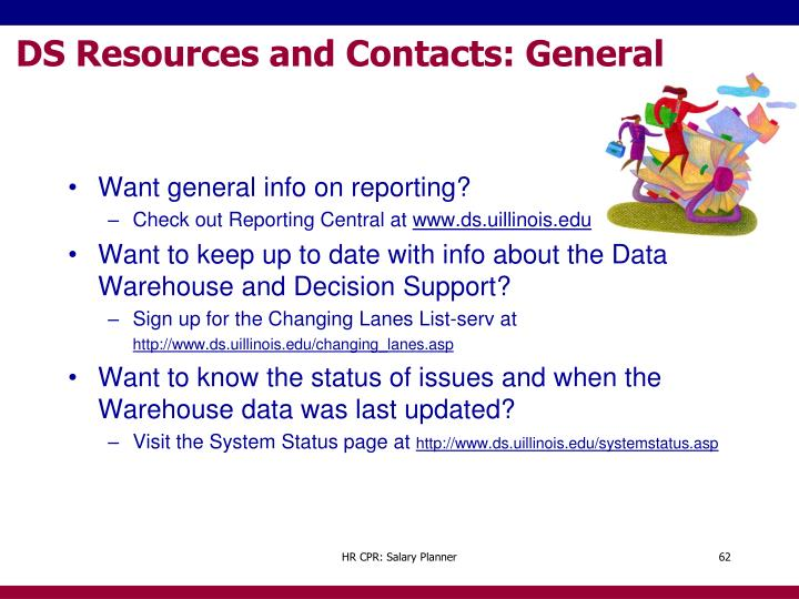 DS Resources and Contacts: General