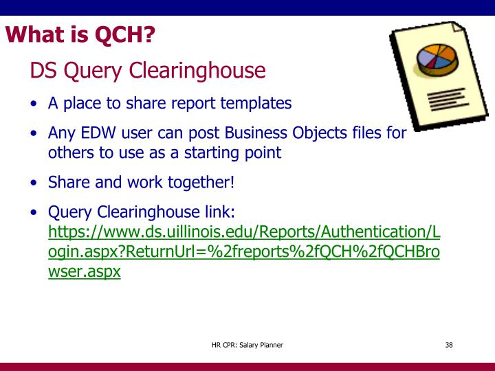 What is QCH?