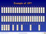 example of opt