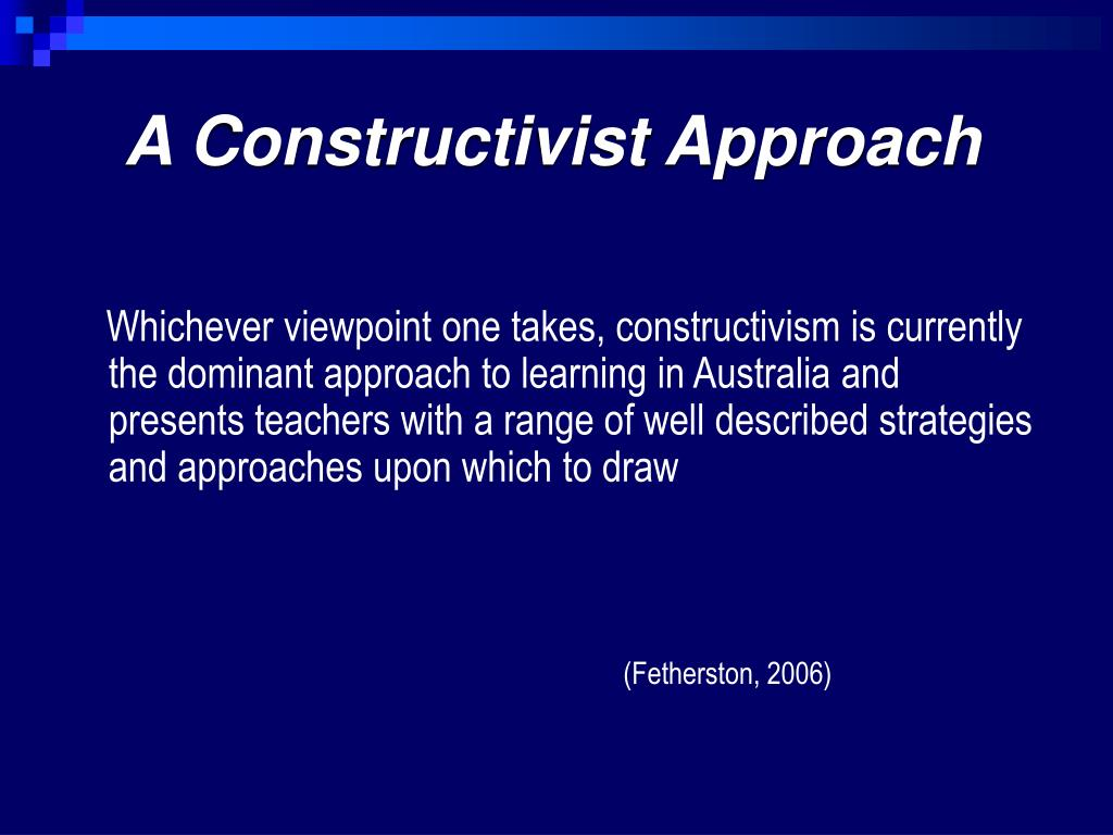 Ppt Constructivism Powerpoint Presentation Free Download Id 3709385
