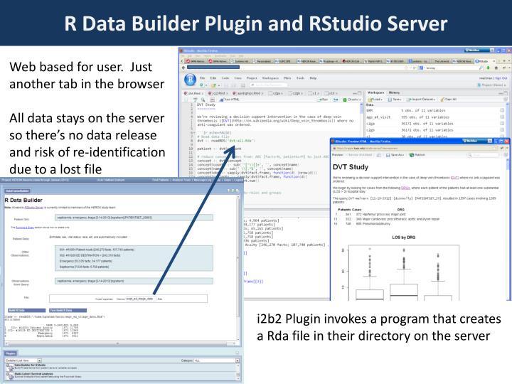 R Data Builder