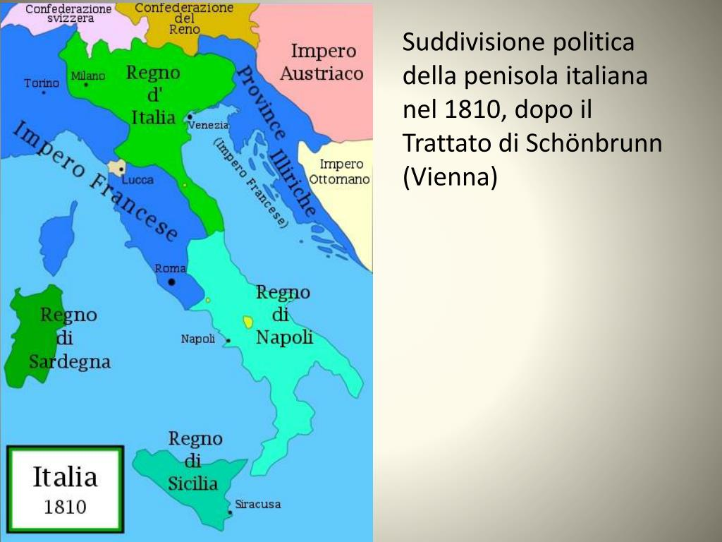 Cartina Italia 1810.Ppt L Impresa Napoleonica Powerpoint Presentation Free Download Id 3709873