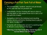 carrying a full fish tank full of water continued3