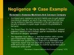 negligence case example
