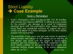 strict liability case example