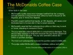 the mcdonalds coffee case continued