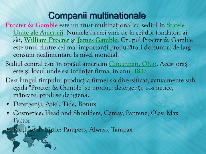 Companii multinationale