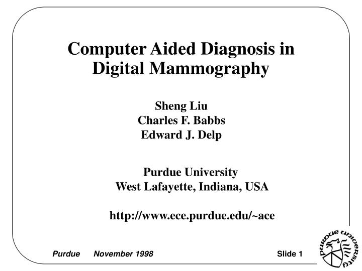 the role of computer aided detection in The use of computer-aided detection may have image feature analysis and computer-aided colonic polyps: complementary role of computer-aided detection in.