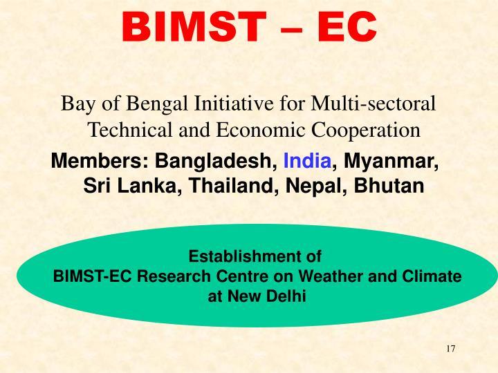 BIMST – EC