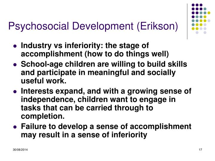 Psychosocial Development (Erikson)
