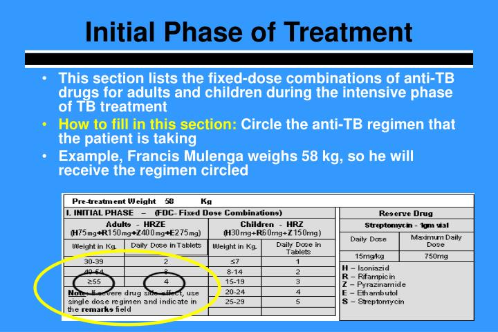Initial Phase of Treatment