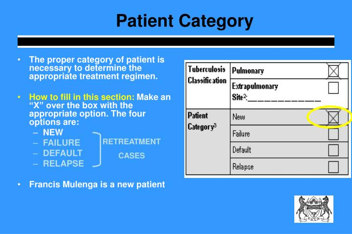 Patient Category