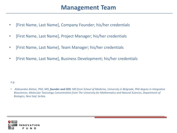 [First Name, Last Name], Company Founder; his/her credentials