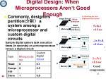 digital design when microprocessors aren t good enough1