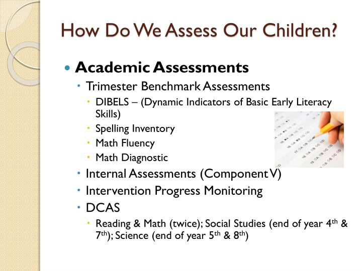 How Do We Assess Our Children?