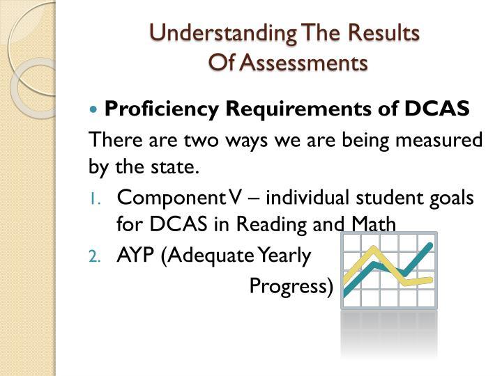 Understanding The Results