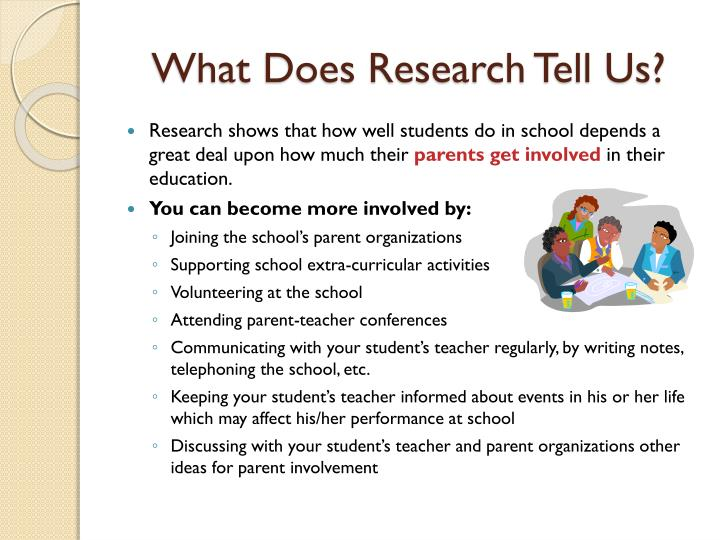 What Does Research Tell Us?