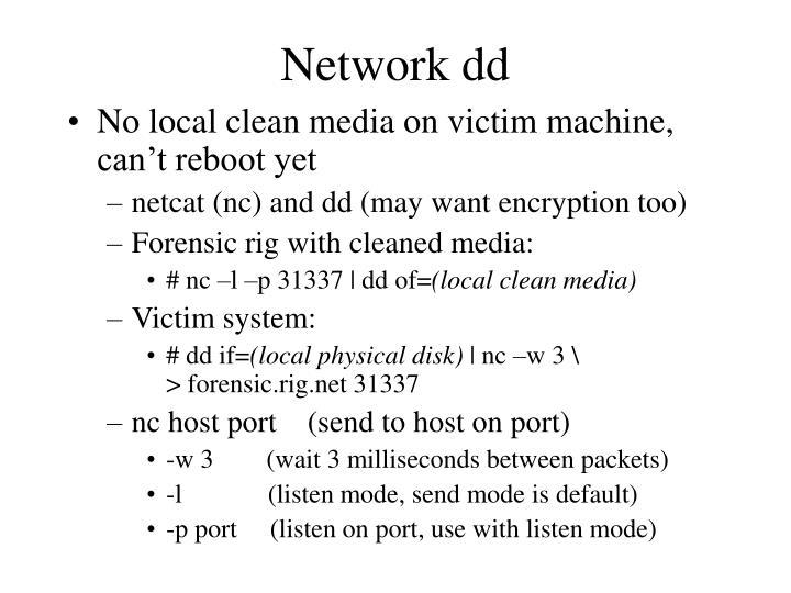 Network dd