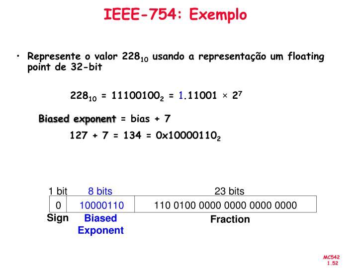 IEEE-754: Exemplo