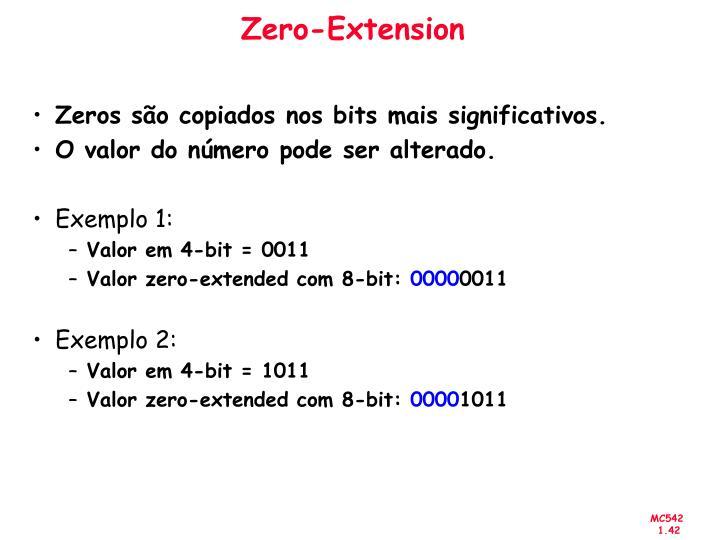 Zero-Extension