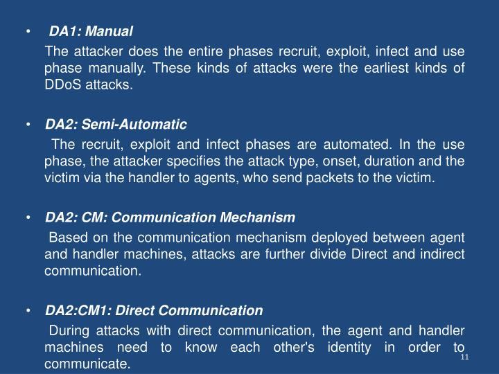 DA1: Manual