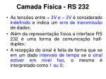 camada f sica rs 2321