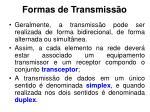 formas de transmiss o