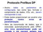 protocolo profibus dp10