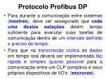 protocolo profibus dp2
