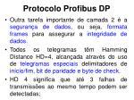 protocolo profibus dp6