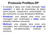 protocolo profibus dp7