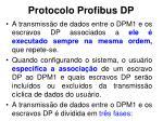 protocolo profibus dp8
