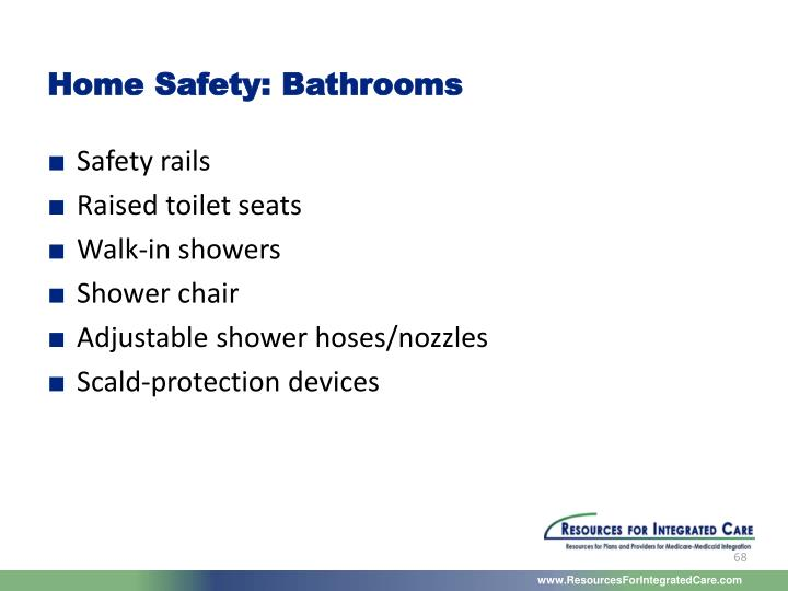 Home Safety: Bathrooms