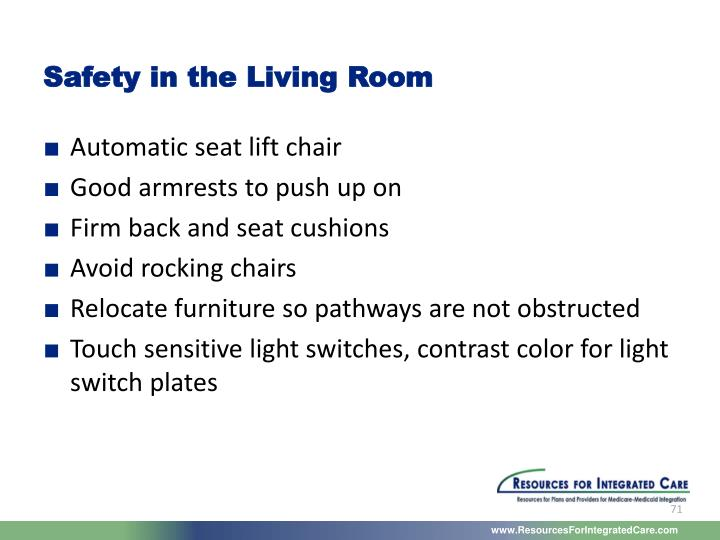 Safety in the Living Room