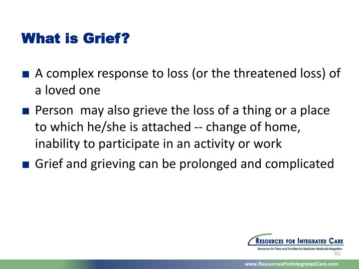 What is Grief?