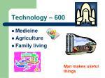 technology 600