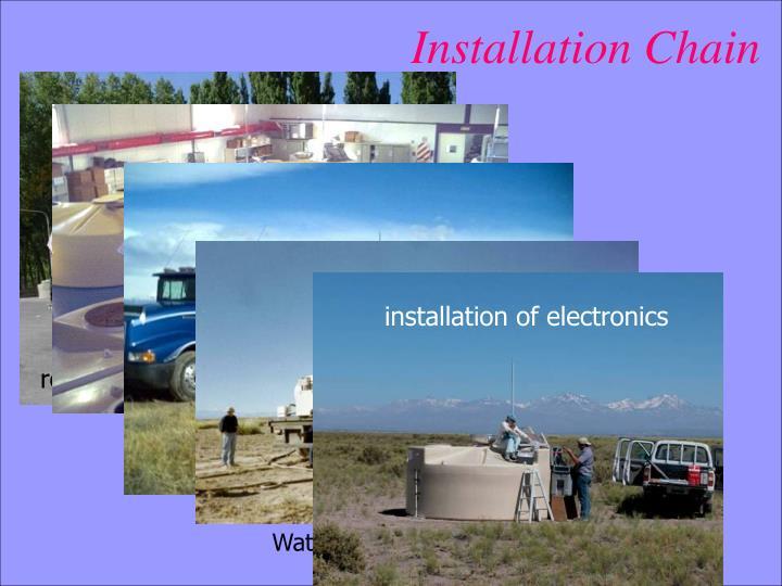 installation of electronics