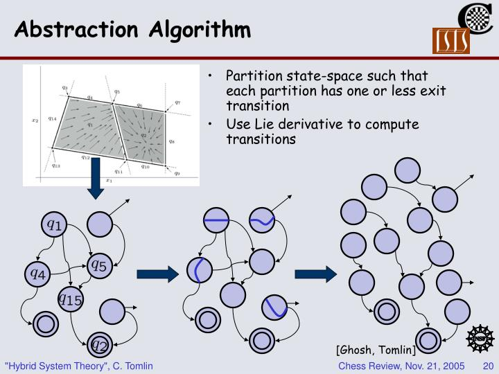 Abstraction Algorithm