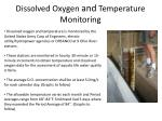 dissolved oxygen and temperature monitoring