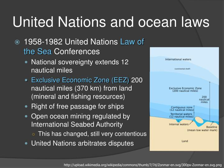 United Nations and ocean laws