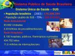 sistema p blico de sa de brasileiro