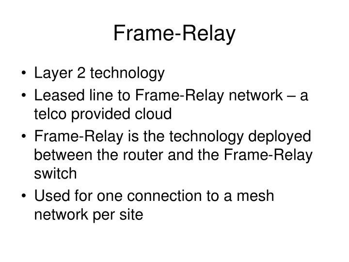 a review of frame relay and leased lines in computer networking