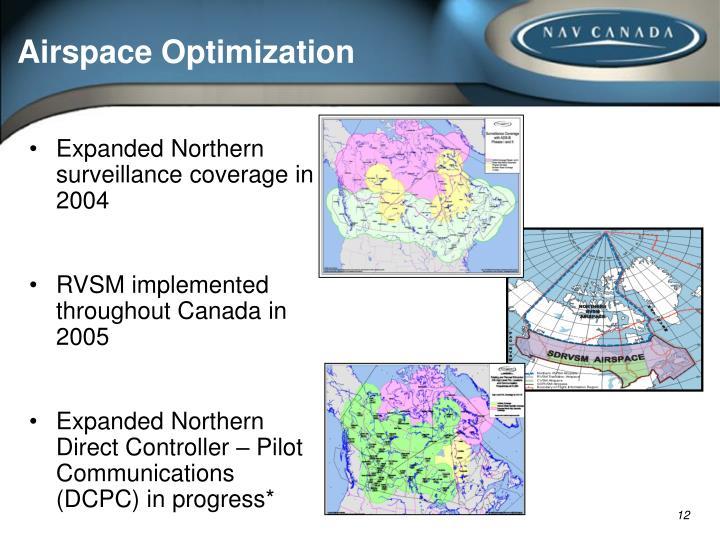 Airspace Optimization